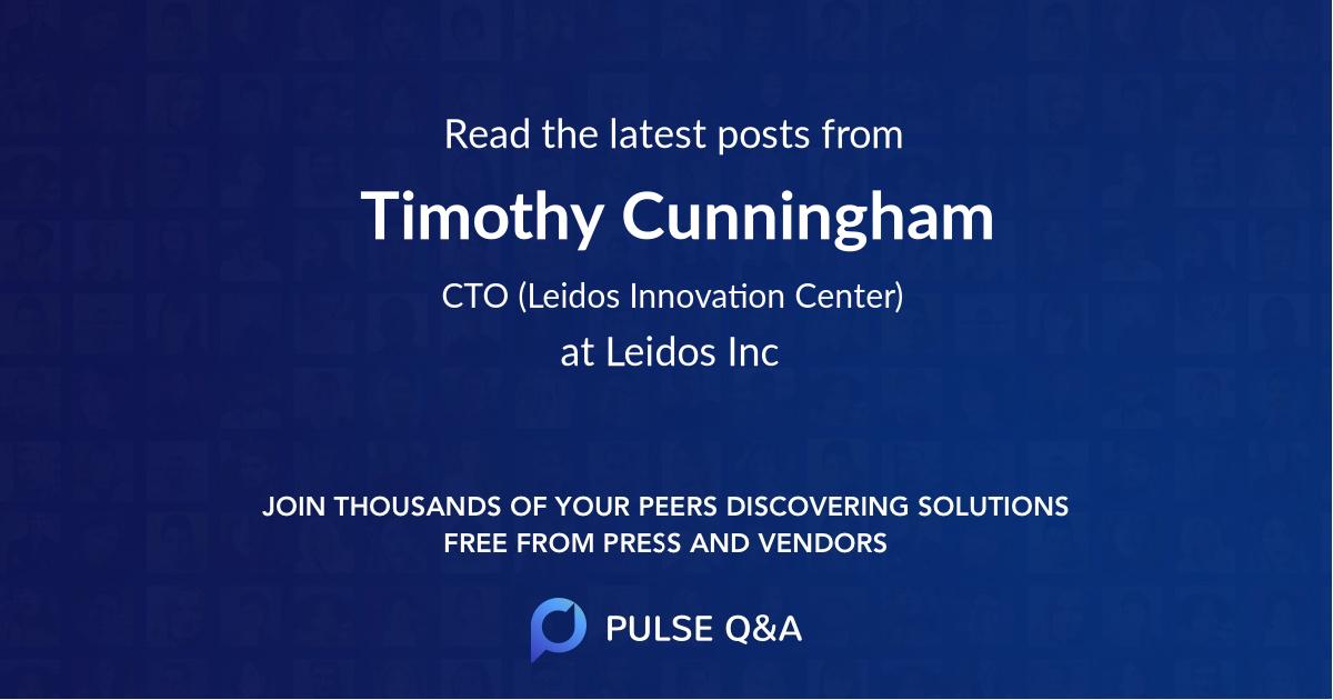 Timothy Cunningham