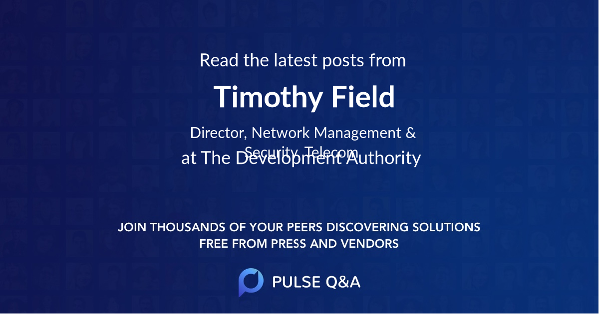 Timothy Field
