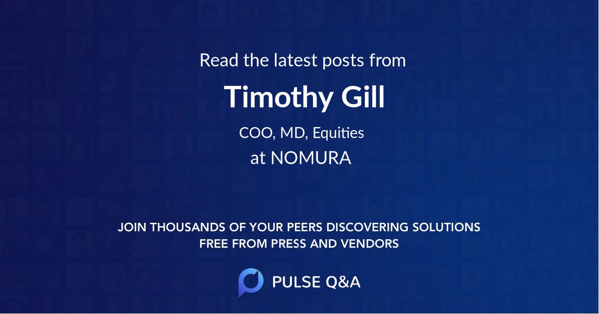 Timothy Gill