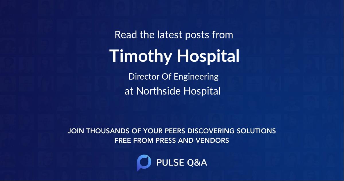 Timothy Hospital