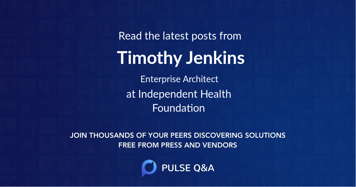 Timothy Jenkins