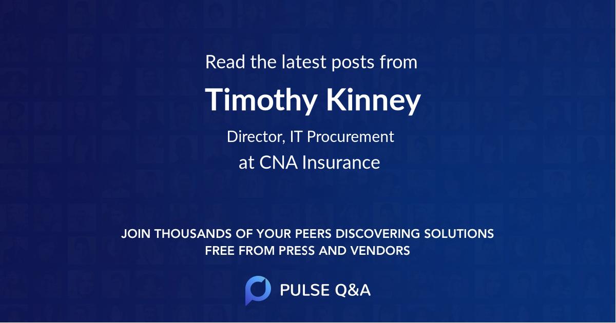 Timothy Kinney