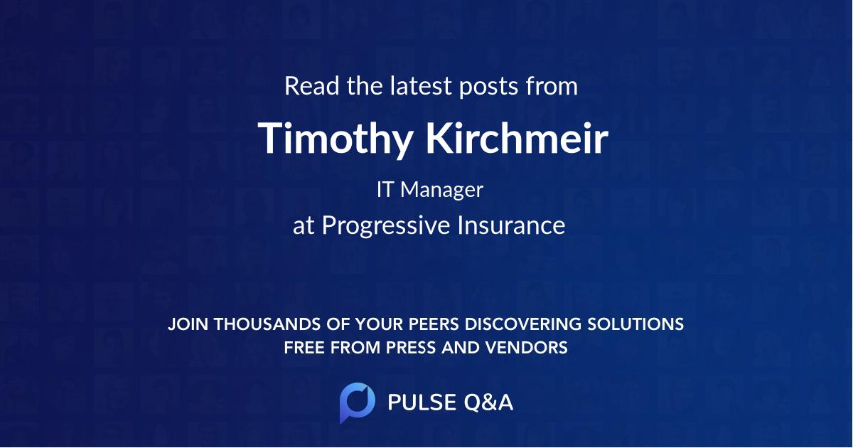 Timothy Kirchmeir