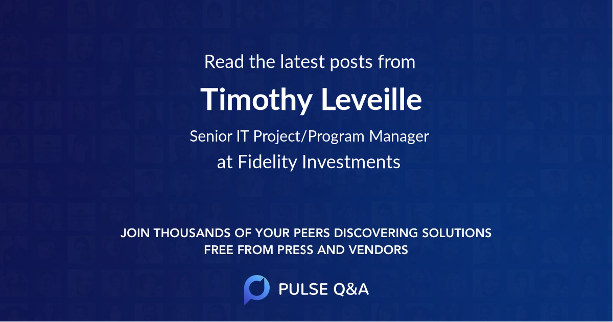 Timothy Leveille