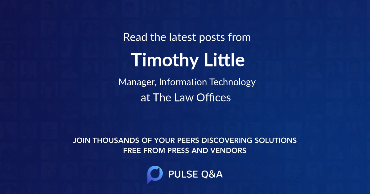 Timothy Little