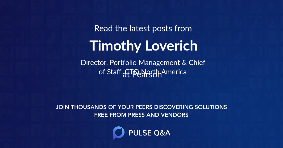 Timothy Loverich