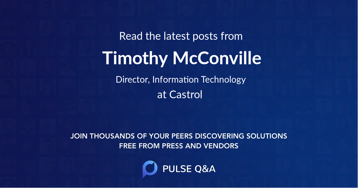 Timothy McConville