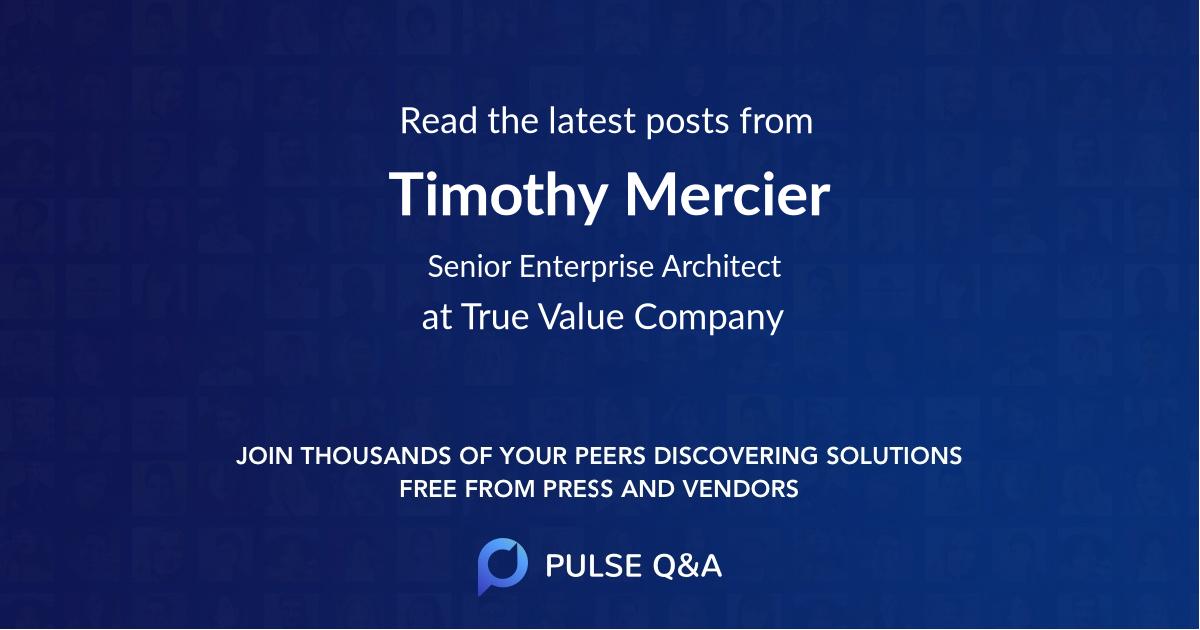 Timothy Mercier