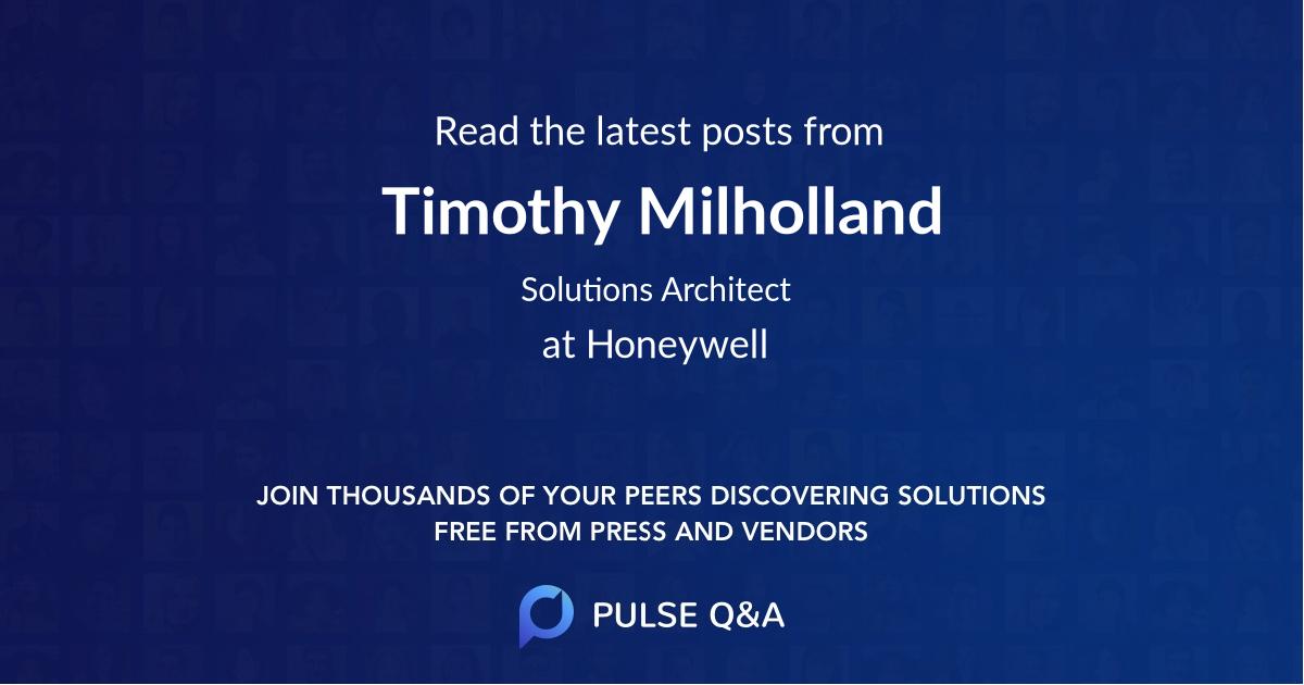 Timothy Milholland