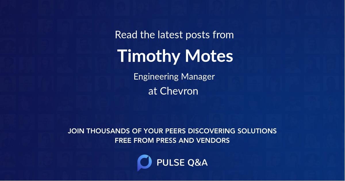 Timothy Motes