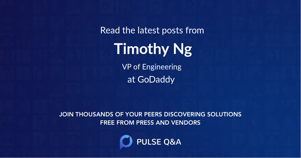 Timothy Ng