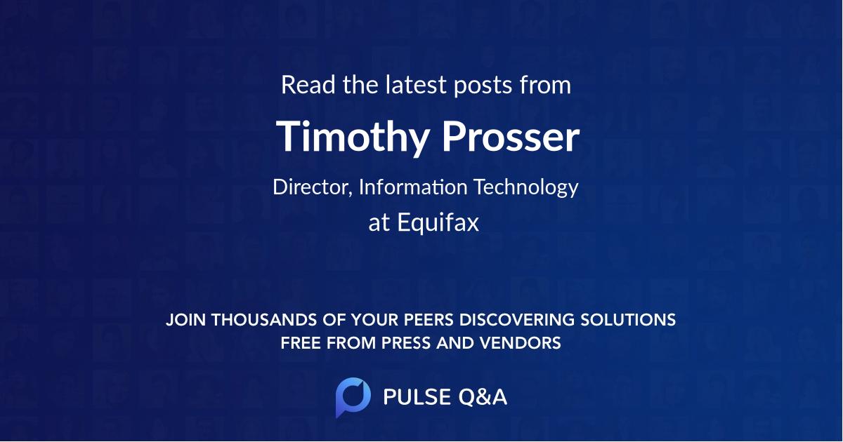Timothy Prosser