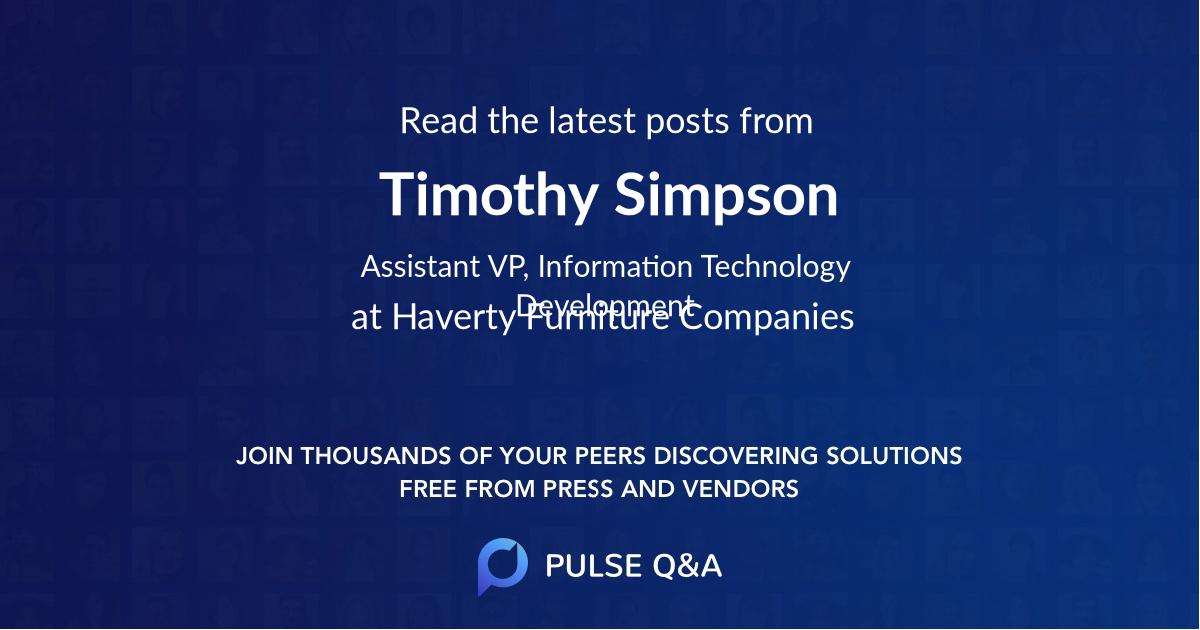 Timothy Simpson
