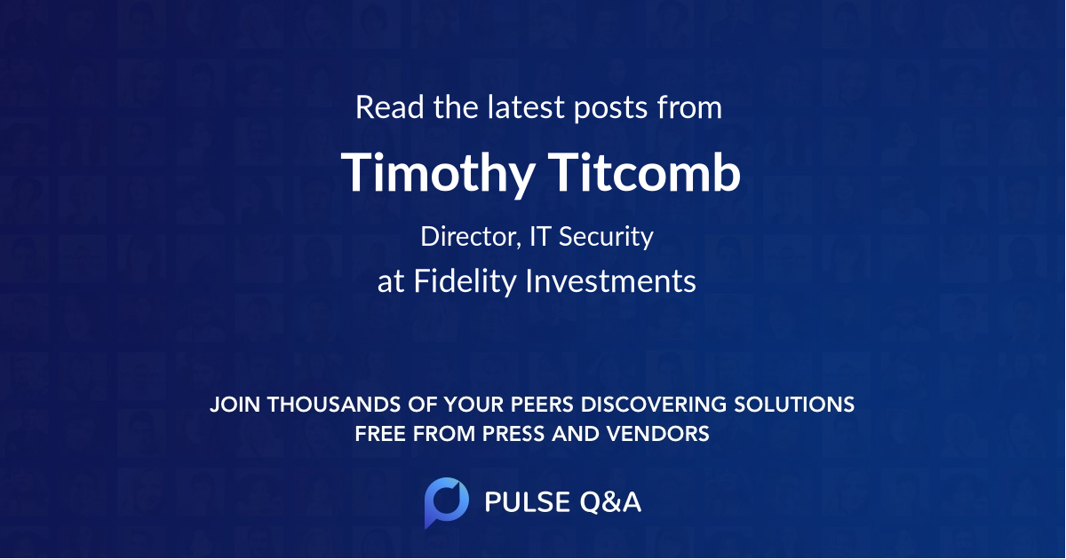 Timothy Titcomb