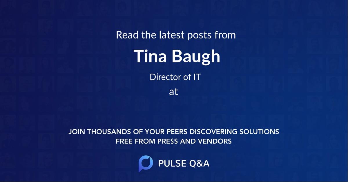 Tina Baugh