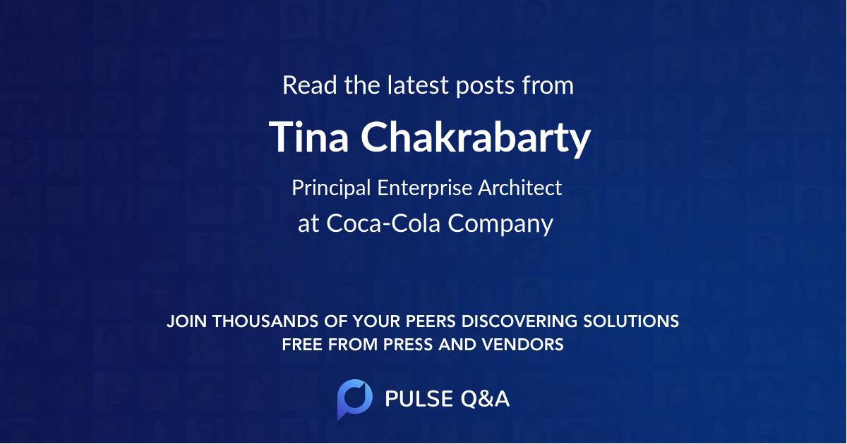 Tina Chakrabarty