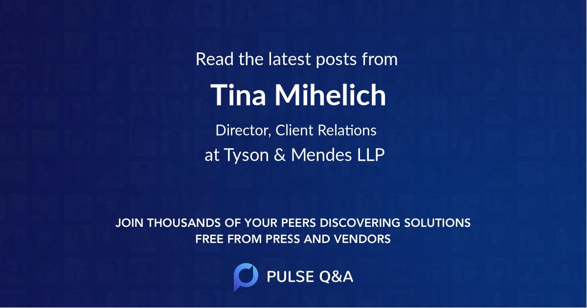 Tina Mihelich