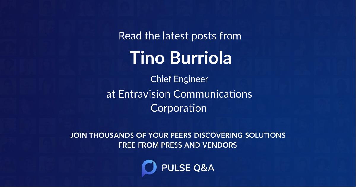 Tino Burriola