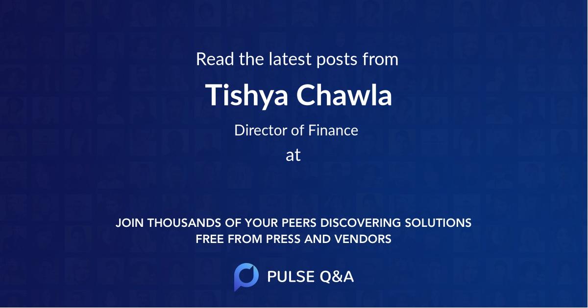 Tishya Chawla