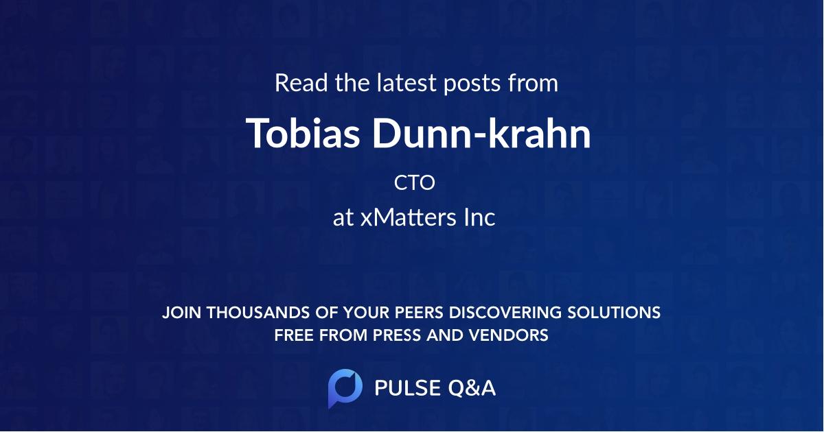 Tobias Dunn-krahn