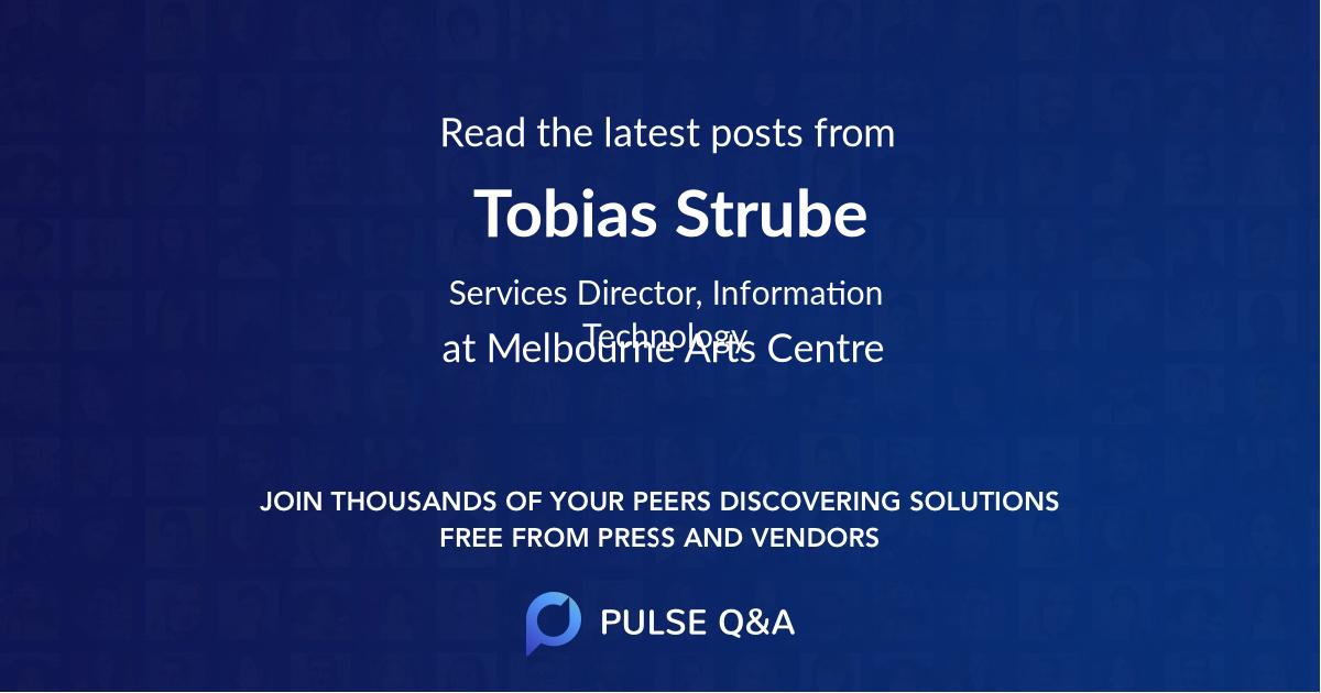 Tobias Strube