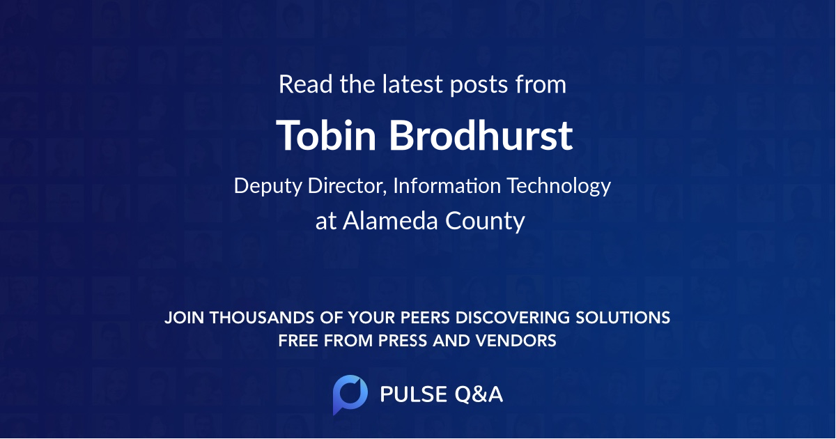Tobin Brodhurst