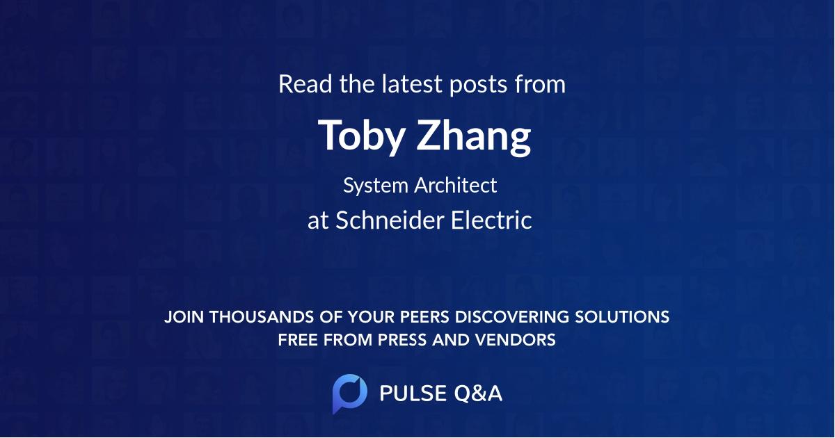 Toby Zhang