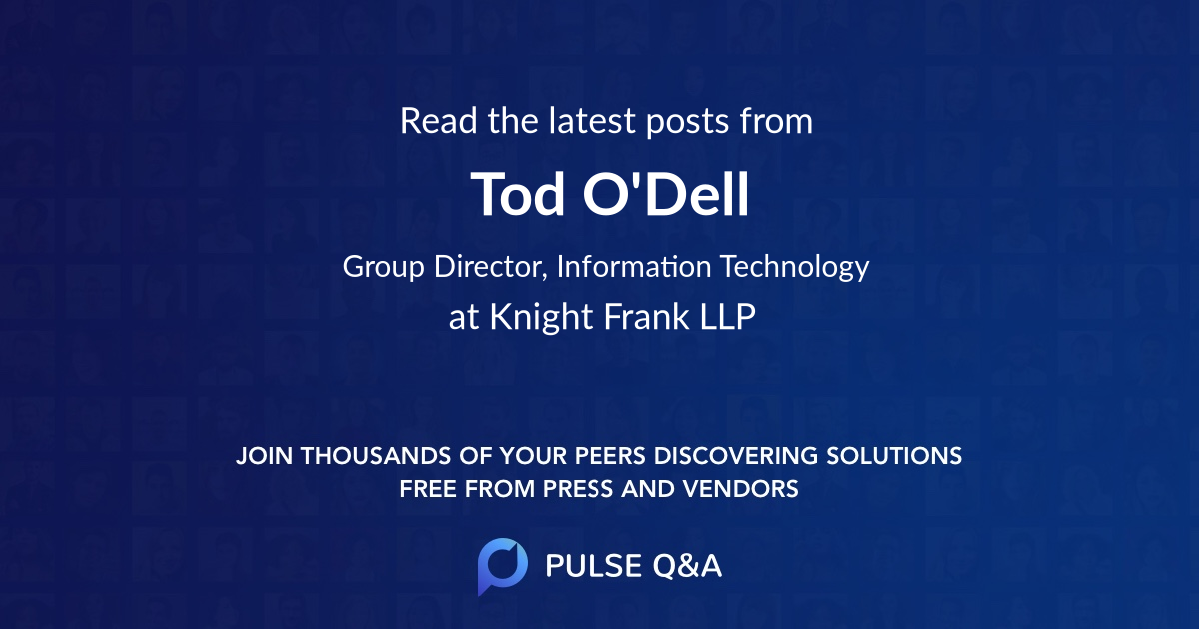 Tod O'Dell