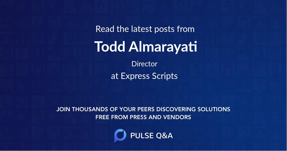 Todd Almarayati