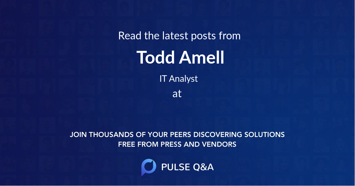 Todd Amell