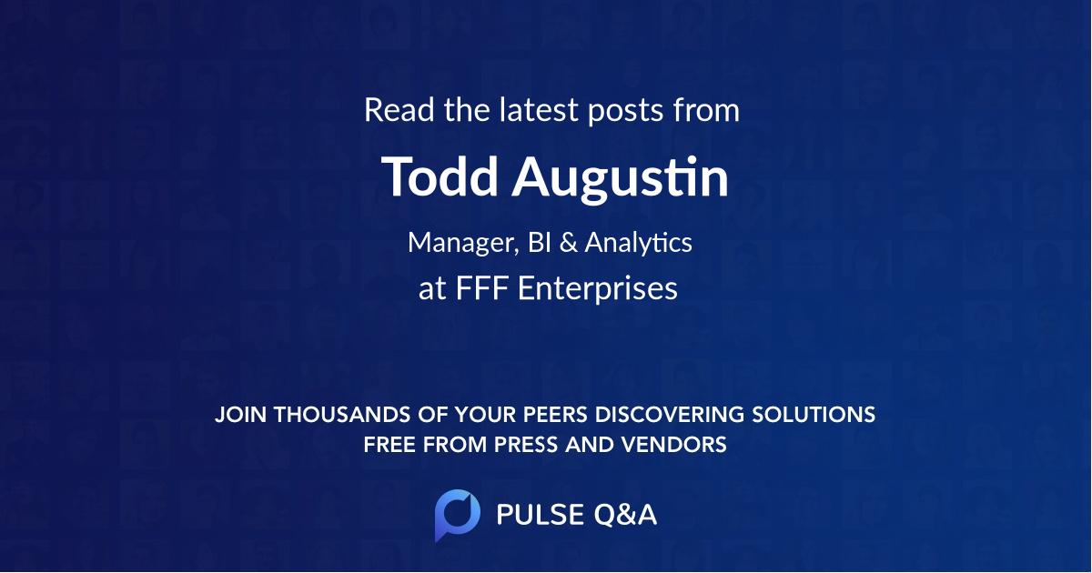 Todd Augustin
