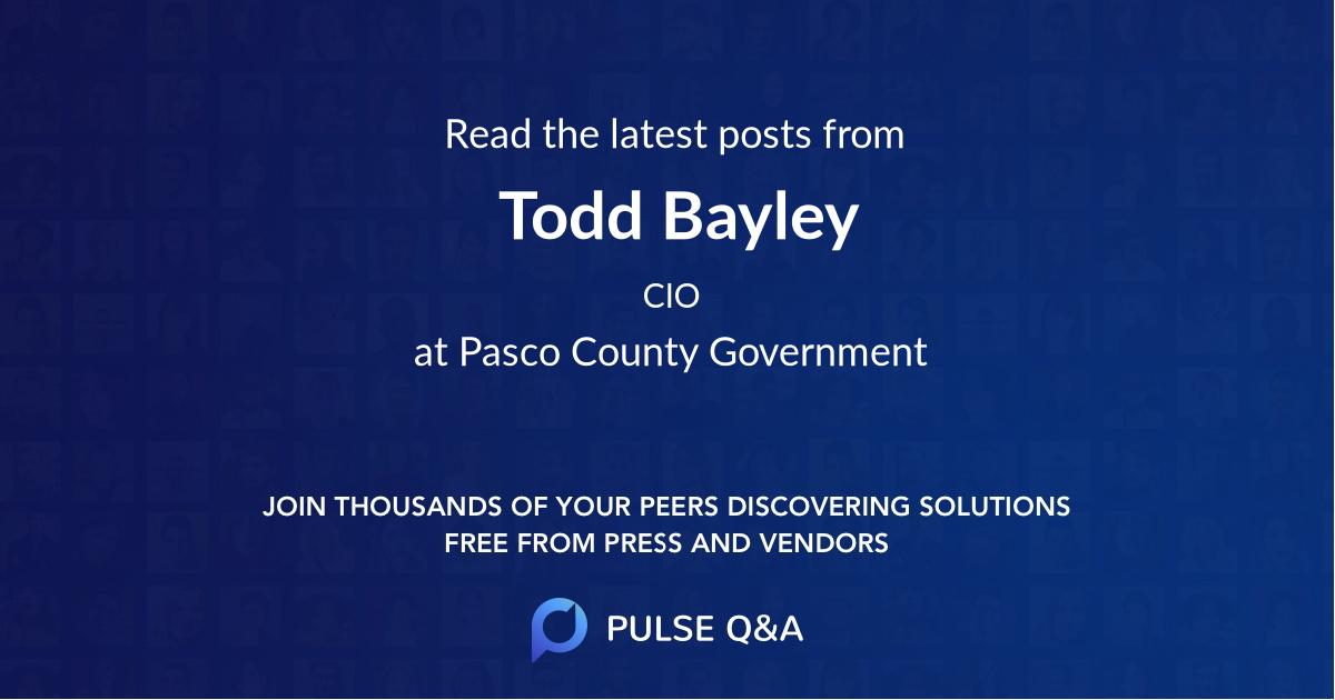 Todd Bayley