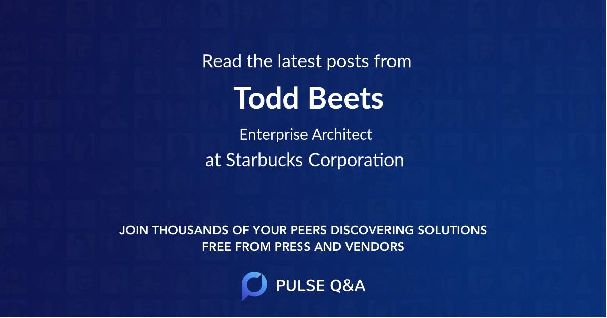 Todd Beets