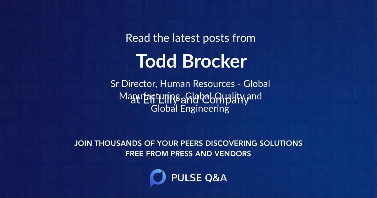 Todd Brocker