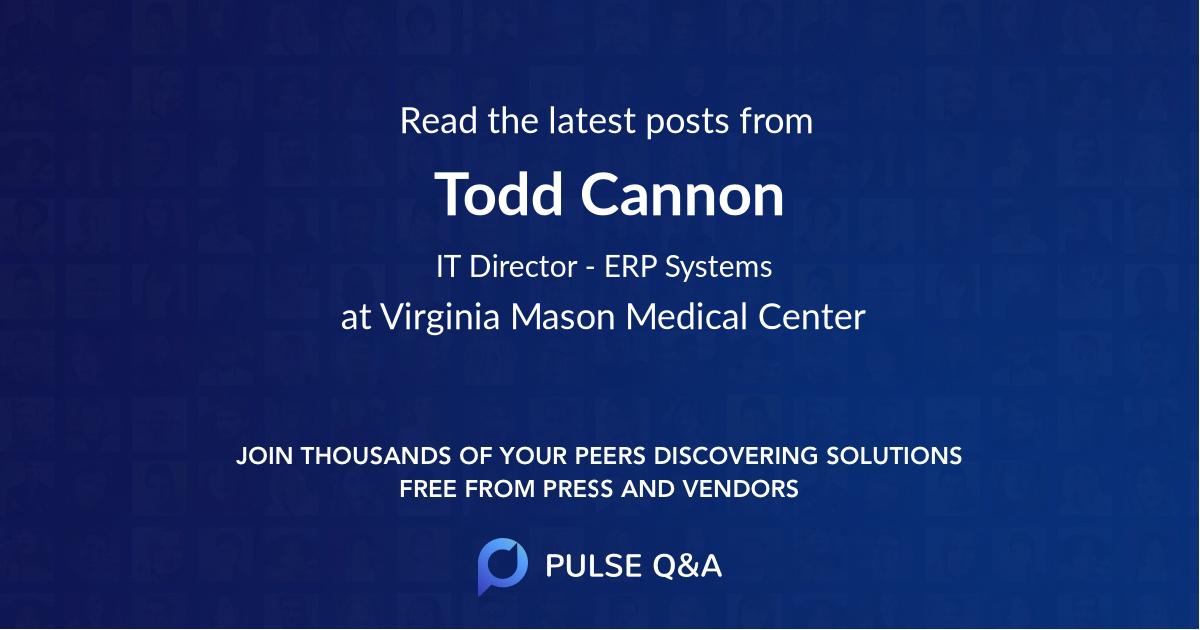 Todd Cannon