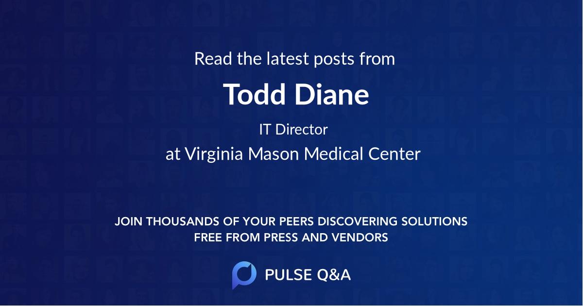 Todd Diane