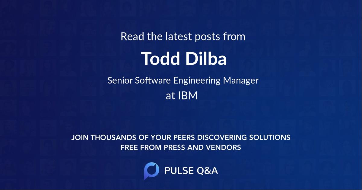 Todd Dilba