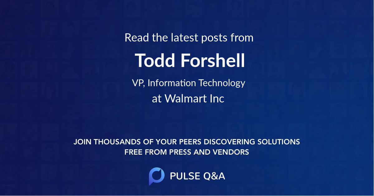 Todd Forshell
