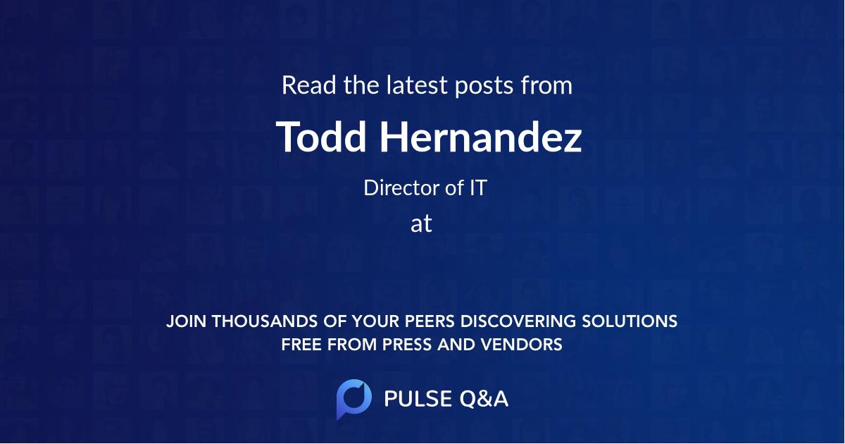 Todd Hernandez