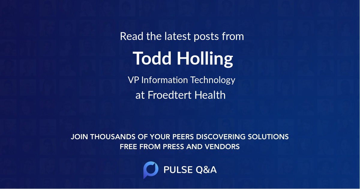 Todd Holling