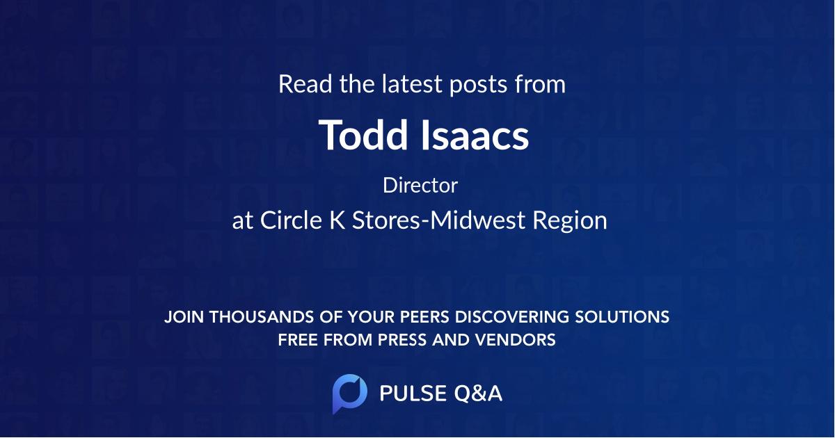 Todd Isaacs