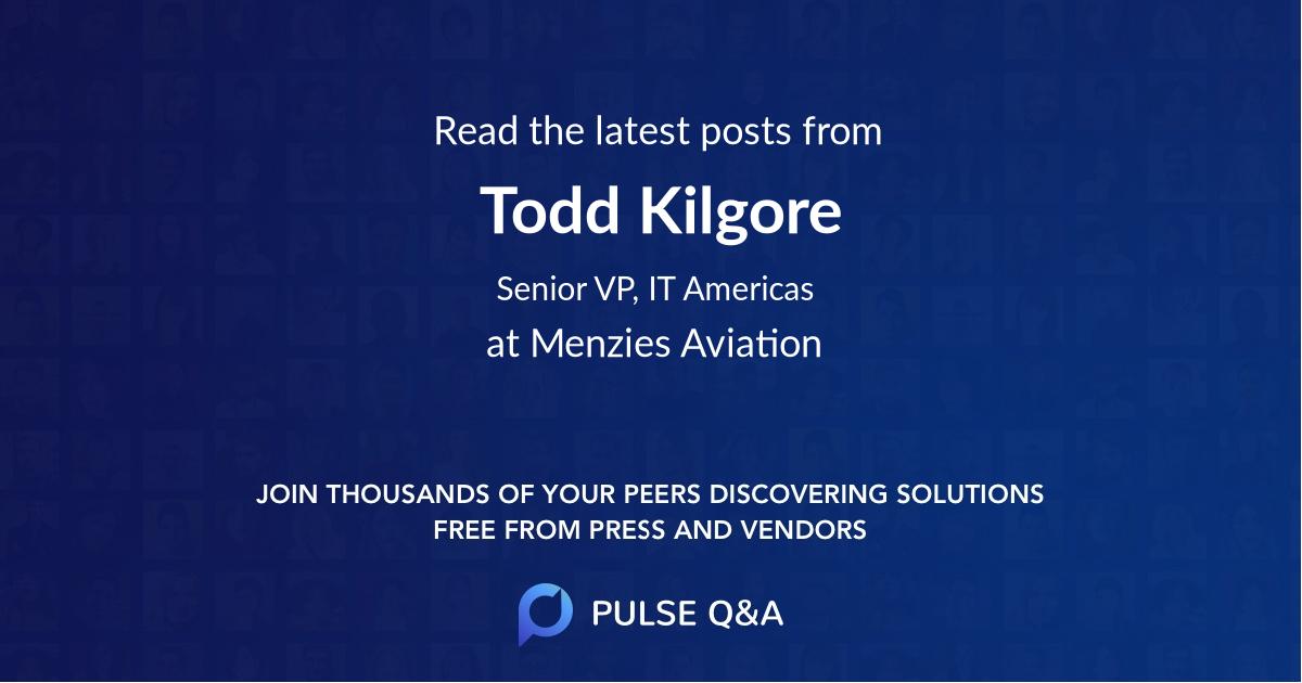 Todd Kilgore