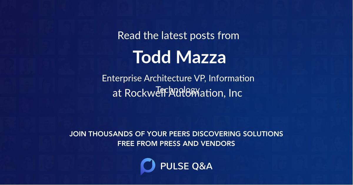 Todd Mazza