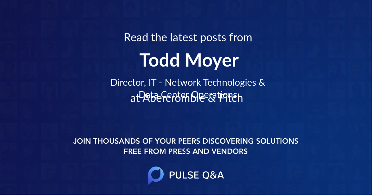 Todd Moyer