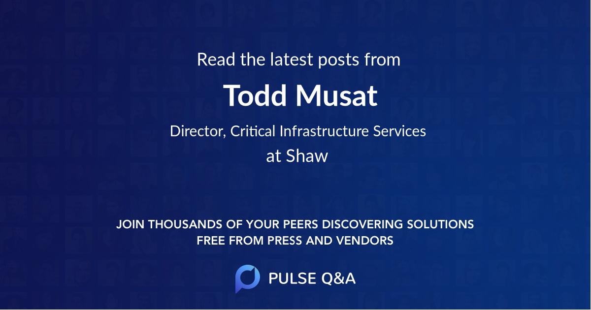 Todd Musat