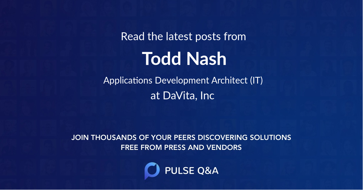 Todd Nash