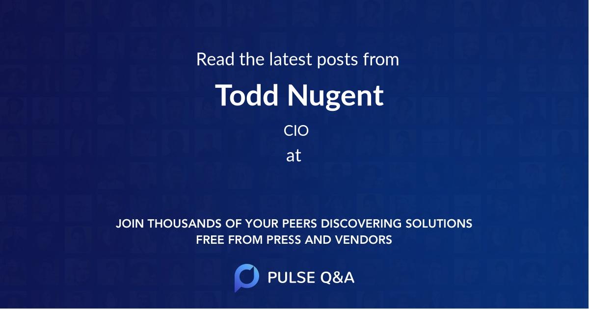 Todd Nugent