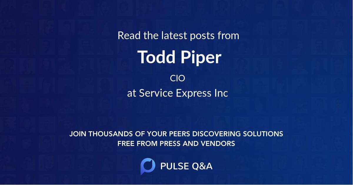 Todd Piper