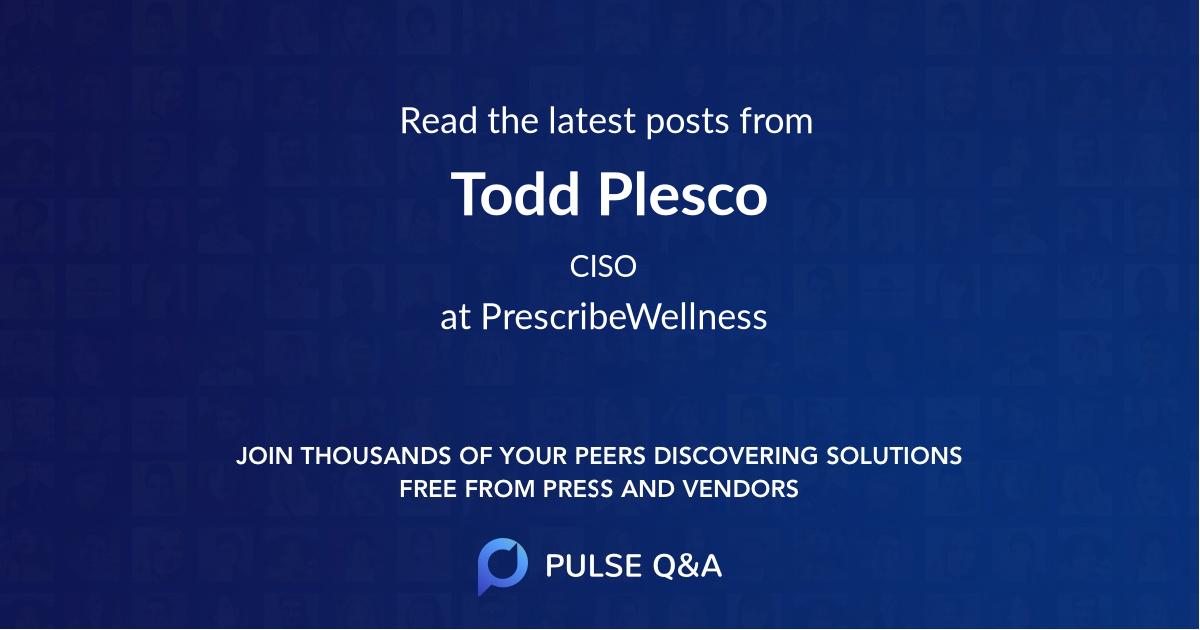 Todd Plesco