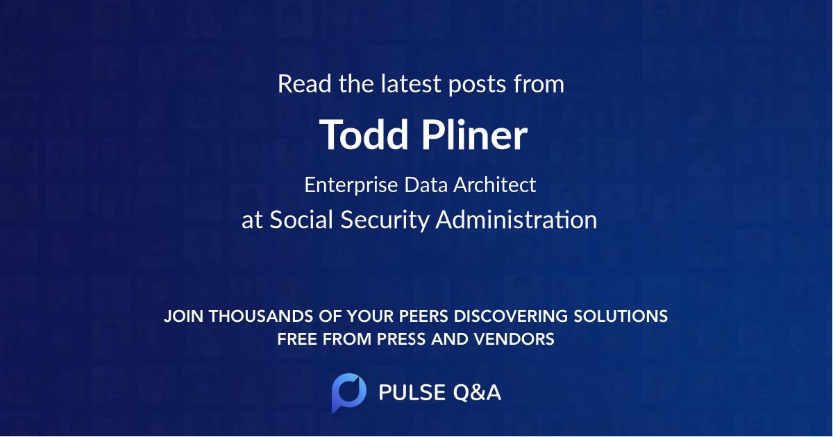 Todd Pliner